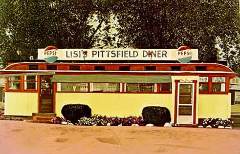 Lisi's Pittsfield Diner by John Baeder