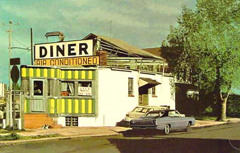 Royal Diner by John Baeder