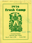 Cover of the 1956 Frosh Camp Handbook