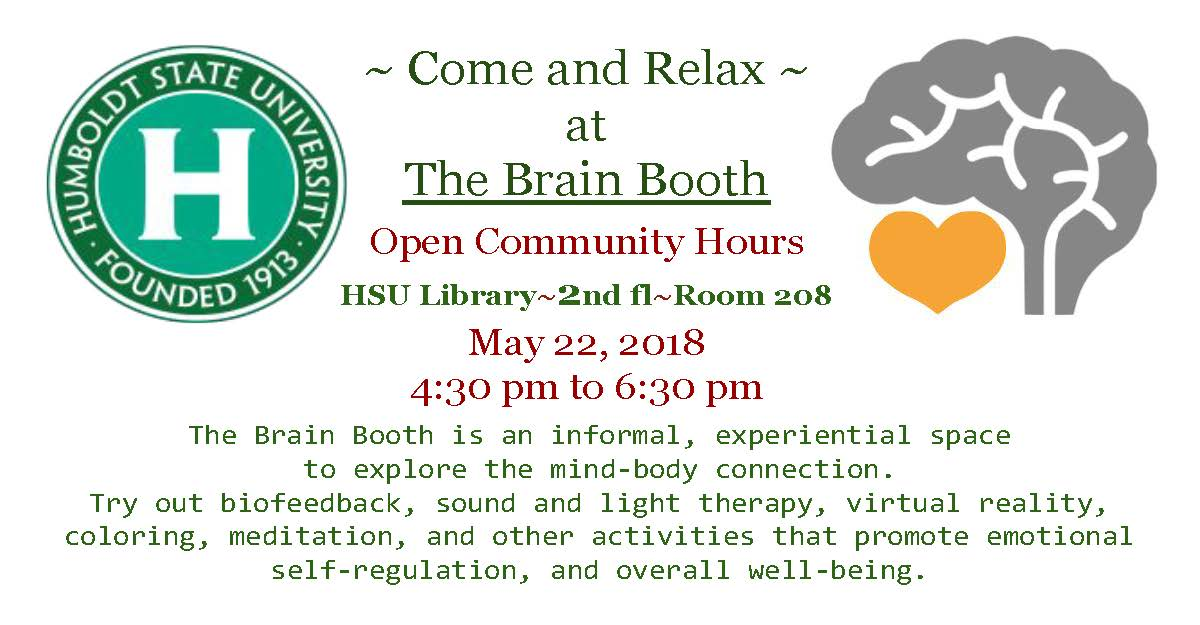 Brain Booth Community Hours