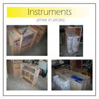Instruments arrive in Arcata