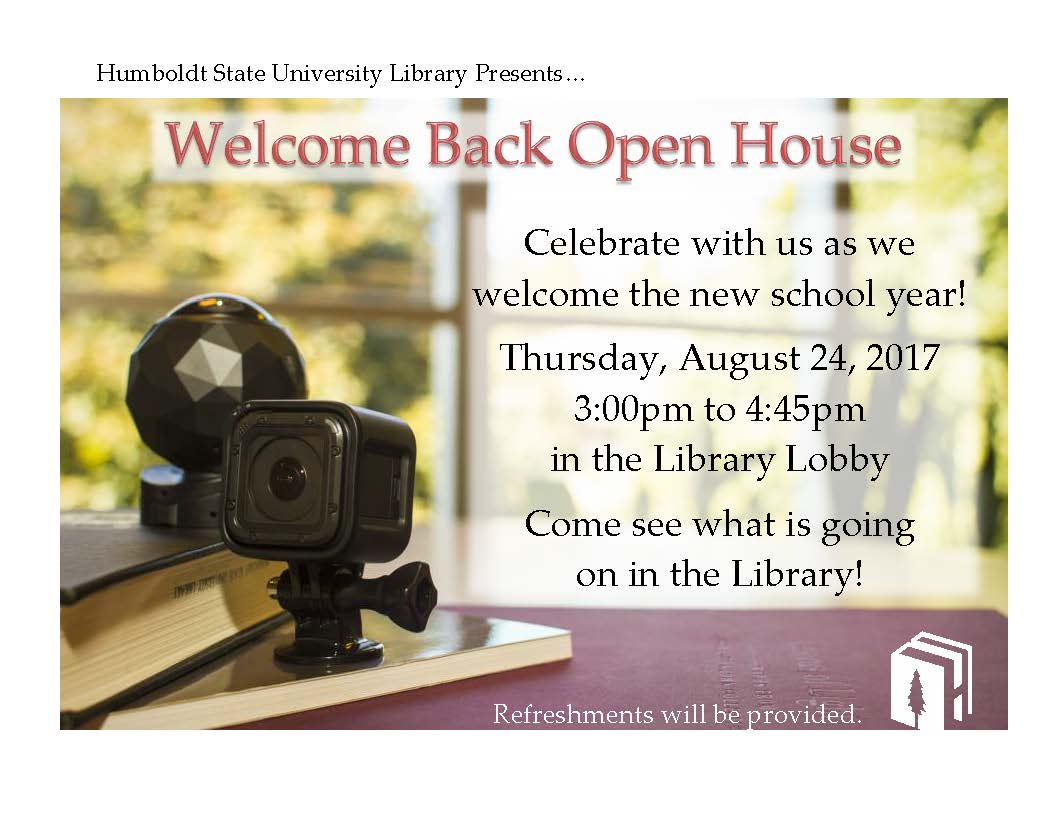 Welcome Back Open House