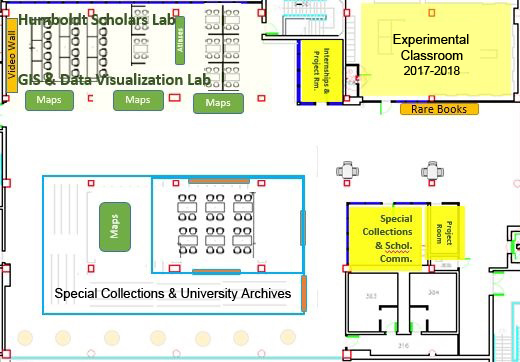 Scholars Lab map