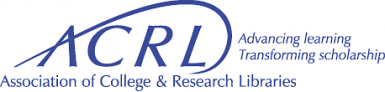 logo for ACRL Association of College & Research Libraries