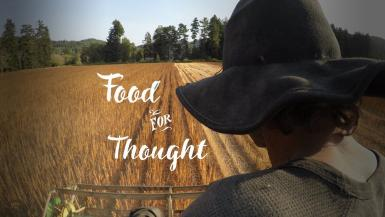 logo and graphic for Food for Thought