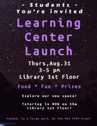 Learning Center Launch