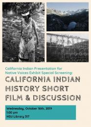 flyer for film and discussion
