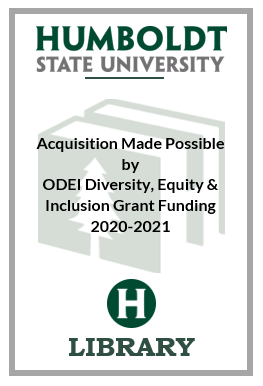 graphic of bookplate for ODEI grant funded purchases