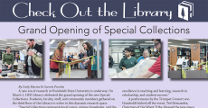 Check Out the Library - Grand Opening of Special Collections
