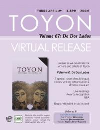 flyer for Toyon release