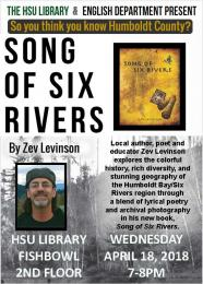 Song of Six Rivers poetry and photograph by Zev Levinson