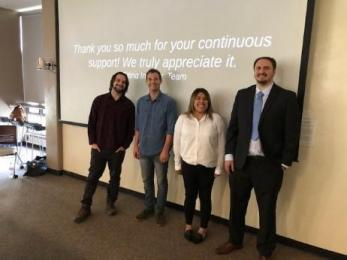 student interns who worked on Citing Insights Software
