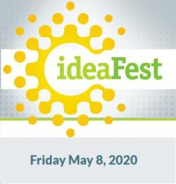 ideaFest Friday May 8, 2020 logo