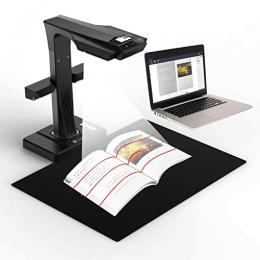 image of book scanner with book
