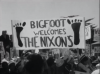 Bigfoot Welcomes the Nixons sign